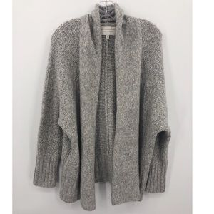 Anthro Angel From The North Gray cardigan